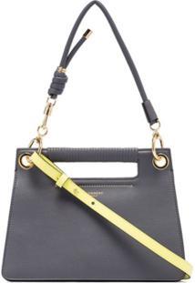 Givenchy Bolsa Transversal Whip - Cinza