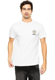 Camiseta Fiveblu Manga Curta Wasted Branca