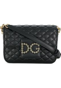 Dolce & Gabbana Bolsa Tiracolo 'Dg Millennials' - Preto