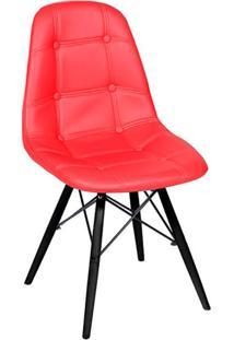 Cadeira Eames Eiffel Ii Vermelha
