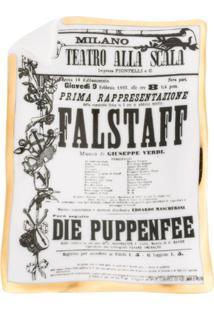 Fornasetti Bandeja Média Falstaff - Estampado