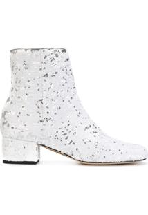 Chiara Ferragni Ankle Boot 'Candy' - Branco