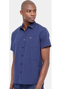 Camisa Sommer Bolso Mini Print Masculina - Masculino