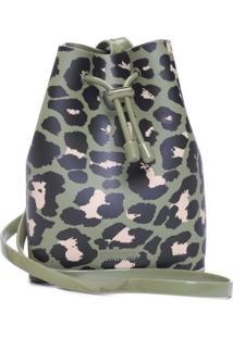 Bolsa Bucket Bag Melissa - Verde
