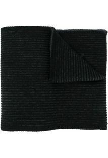 Kenzo Cachecol De Tricô E Lã - Cinza