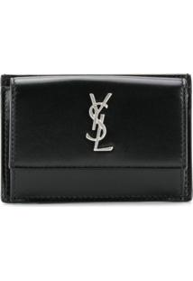 Saint Laurent Carteira Ysl - Preto