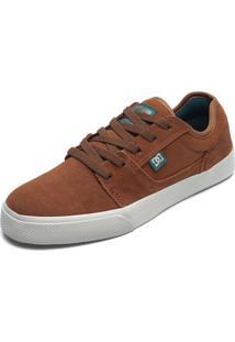 Tênis Couro Dc Shoes Tonik Caramelo