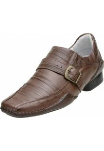 Sapato Social Alcalay Havana - Masculino-Marrom