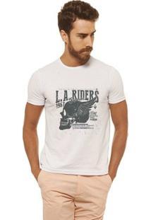 Camiseta Joss - La Riders - Masculina - Masculino-Branco