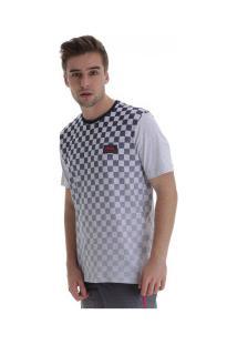 Camiseta Fatal Especial 22204 - Masculina - Cinza Cla/Azul Esc