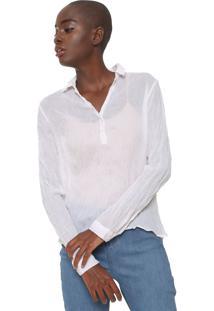 Camisa Cantão Amarração Branca