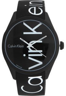 9b08664120455 Kanui. Relógio De Grife Masculino Calvin Klein Preto K5e51tbz