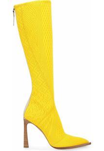 Fendi Bota Stivale - Amarelo