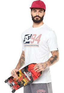 Camiseta Dc Shoes Player Off-White