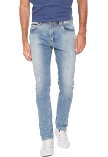 Calça Jeans Polo Wear Skinny Premium Azul