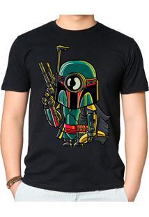 Camiseta Minion Boba Fett Geek10 - Preto