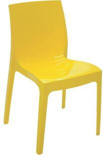 Cadeira Alice Polida Amarela Summa - Tramontina
