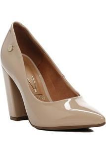 Sapato Scarpin Feminino Vizzano Bege