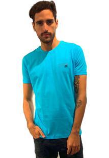 Camiseta 775 Hibisco Turquesa