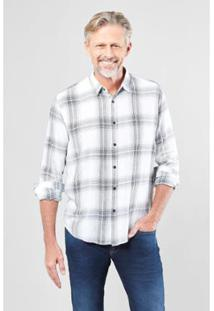 Camisa Regular Reserva Giz Masculina - Masculino