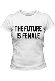 Camiseta Blitzart Future Is Female Branca