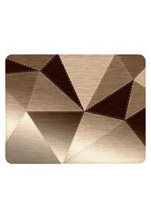 Tapete Love Decor Sala Wevans Metallic Cloth Marrom Único