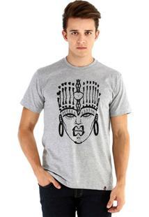 Camiseta Ouroboros Manga Curta The Drag Queen - Masculino-Cinza