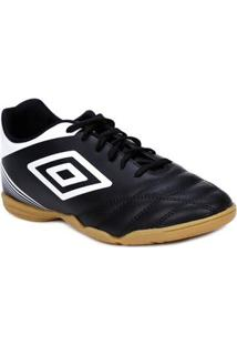 Tênis Futsal Masculino Umbro Striker Iv Indoor Preto/Branco
