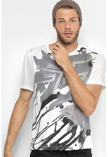 Camiseta Cavalera Estampada Full Print Masculina - Masculino