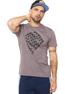 Camiseta Mcd Escher Marrom