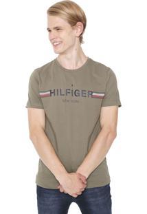 Camiseta Tommy Hilfiger New York Verde