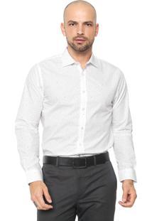 Camisa Forum Reta Poás Branca