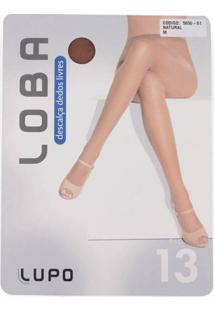 Meia-Calça Descalça Dedos Livres Loba Lupo Fio 13