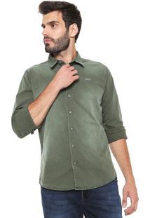 Camisa Colcci Sarja Classic Verde