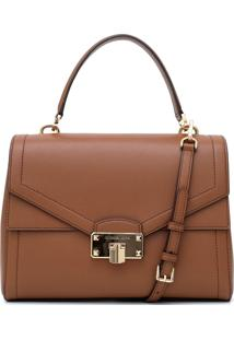 Bolsa Michael Kors Kinsley Lg Th Caramelo