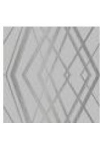Papel De Parede Adesivo Decoração 53X10Cm Cinza -W29672