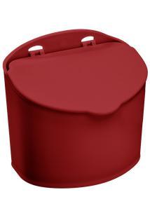 Saleiro Mix 13,5 X 9 X 12,3 Cm 500 Gr Vermelho Bold Coza