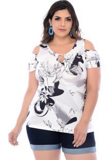 Blusa Ciganinha Marie Finesse Floral