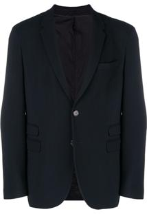 Neil Barrett Single Breasted Blazer - Preto