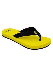 Sandália Feminina Ortho Pauher Fly Feet Amarelo