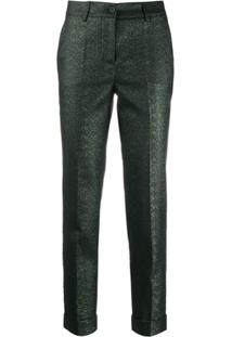 P.A.R.O.S.H. Cropped Skinny Trousers - Verde