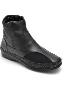 Bota Dr Shoes Casual Feminino - Feminino-Preto