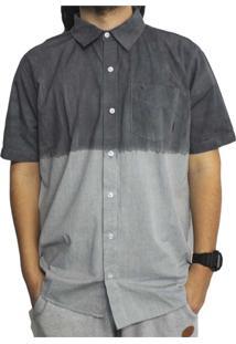 Camisa Manga Curta South To South Premium Cinza