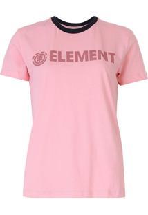 Blusa Element Logo Rosa