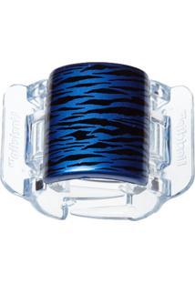 Prendedor De Cabelo Linziclip Tiger Pearlised Dazzling Azul