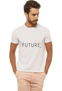 Camiseta Joss - Future - Masculina - Masculino-Branco