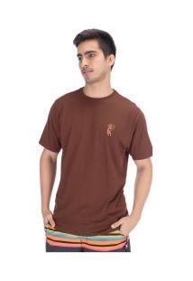 Camiseta Hurley Silk Tigrito - Masculina - Vinho