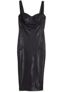 Vestido Midi Justo Eva - Feminino