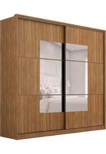 Guarda-Roupa Casal Com Espelho Atria 2 Pt 4 Gv Amêndola