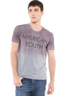 Camiseta Calvin Klein Jeans Now Is Now Cinza